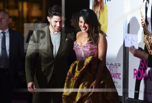 "APTOPIX LA Premiere of ""Isn't it Romantic"""