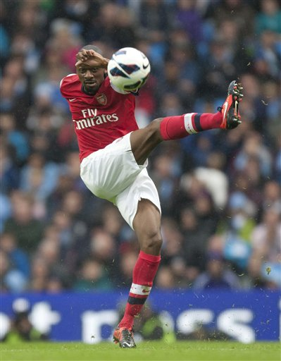 Arsenal&#039;s Abou Diaby 