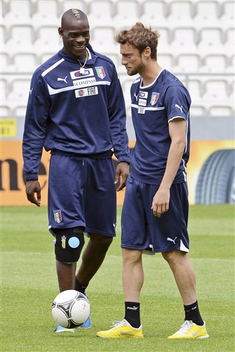 Mario Balotelli, Claudio Marchisio
