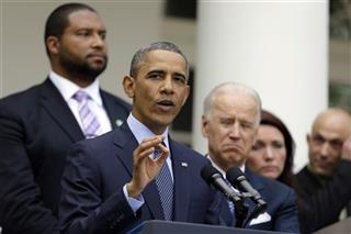 Barack Obama, Joe Biden, Jimmy Greene, Nicole Hockley, Jeremy Richman
