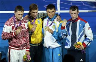 Andrey Zamkovoy, Taras Shelestyuk, Serik Sapiyev, Freddie Evans