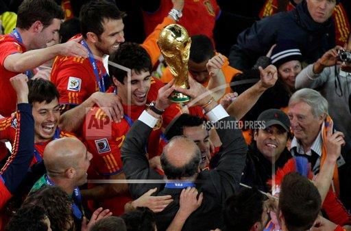 APTOPIX South Africa Soccer WCup Final Netherlands Spain