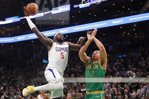 Clippers Celtics Basketball