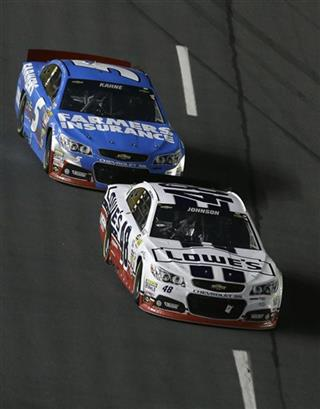 Jimmie Johnson, Kasey Kahne