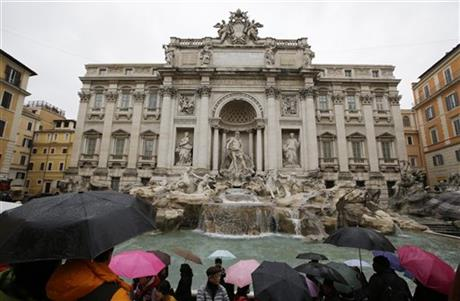 Italy Trevi Fountain
