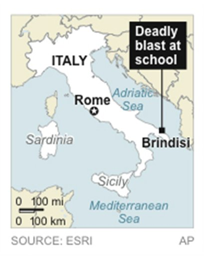 ITALY SCHOOL EXPLOSION