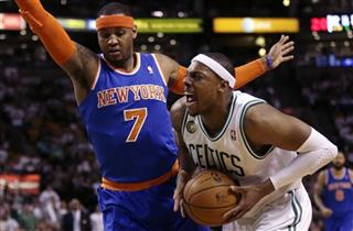 Paul Pierce, Carmello Anthony