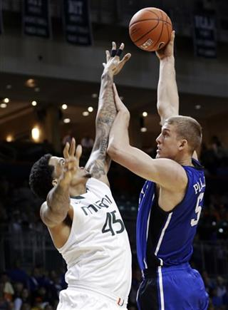 Mason Plumlee, Julian Gamble