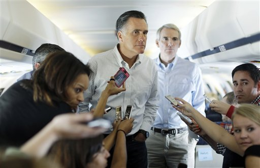 Mitt Romney, Rob Portman