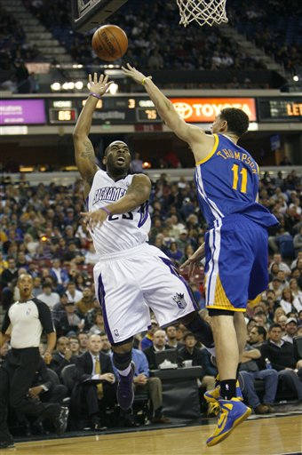 Marcus Thornton, Klay Thompson