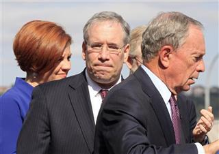 Michael Bloomberg, Scott Stringer, Christine Quinn