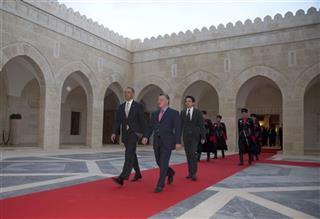 Barack Obama, King Abdullah II
