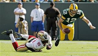 APTOPIX 49ers Packers Football