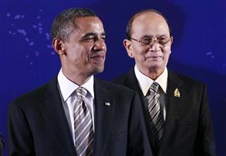 Barack Obama, Thein Sein