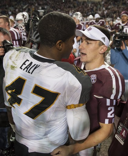 Johnny Manziel, Kony Ealy