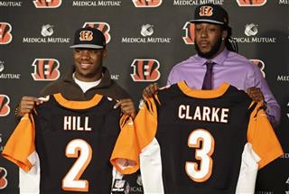 Jeremy Hill, Will Clarke