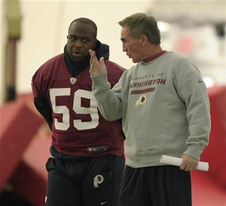 London Fletcher, Mike Shanahan