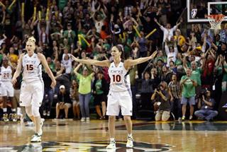 Sue Bird, Lauren Jackson