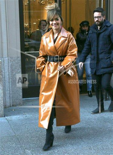 STRMX KGC/STAR MAX/IPx A ENT New York USA IPX Rita Ora is seen in New York City - 12/7/17