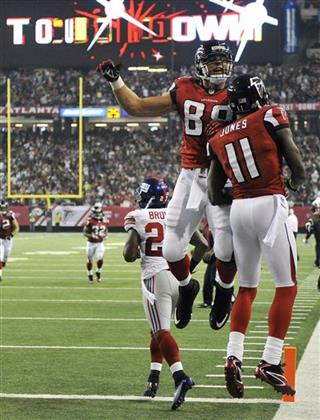 Tony Gonzalez, Julio Jones