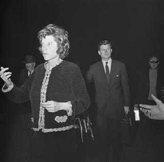 Sen. Edward M. Kennedy and Eunice Shriver