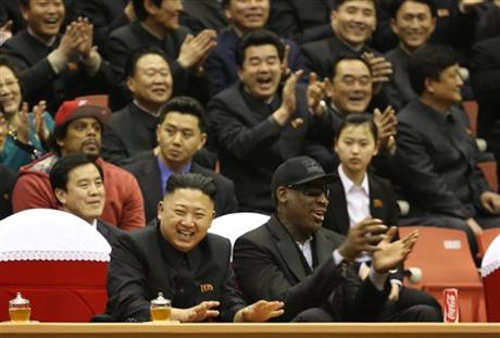 APTOPIX North Korea Rodman