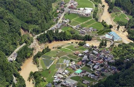 APTOPIX Japan Floods