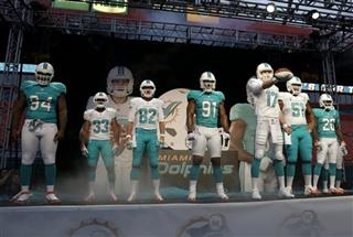 Ryan Tannehill, Randy Starks, Daniel Thomas, Brian Hartline, Mike Pouncey, Reshad Jones