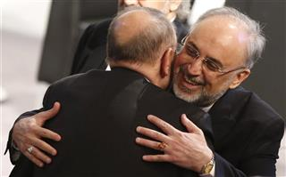Ali Akbar Salehi, Javier Solana