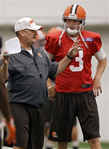 Brad Childress,  Brandon Weeden