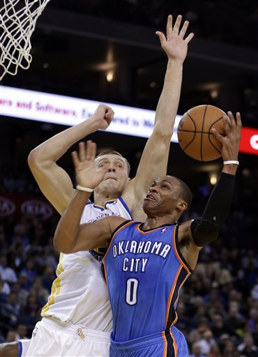Russell Westbrook, Andris Biedrins