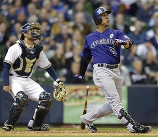 Carlos Gonzalez, Jonathan Lucroy