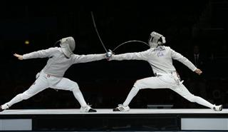 London Olympics Fencing Men
