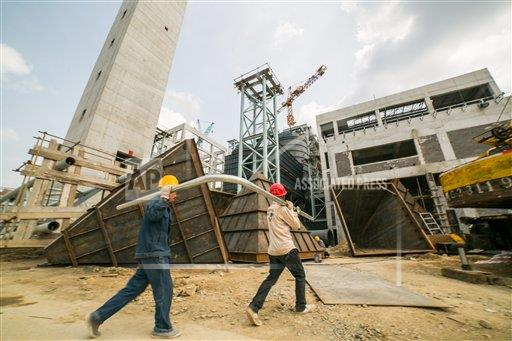 TopPho AP I  Anhui China TPOHP The waste incineration power plant was built in Bijie,Guizhou,China on 20th August, 2019