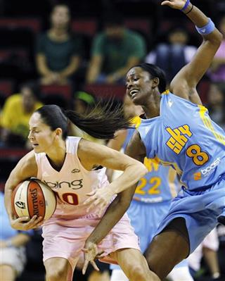 Sue Bird, Swin Cash