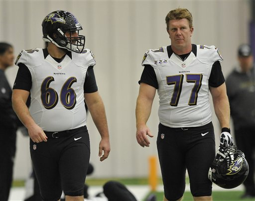 Matt Birk, Gino Gradowski