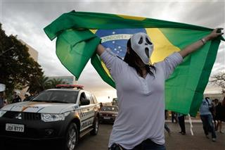 Brazil Confed Cup Protests