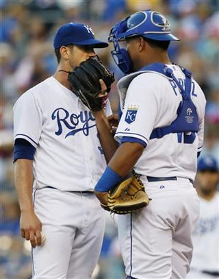 James Shields, Salvador Perez