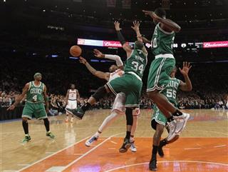 Paul Pierce, Brandon Bass, J.R. Smith, Terrence Williams