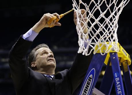 NCAA Kentucky Michigan Basketball