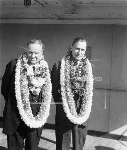 Watchf Associated Press Domestic News  Hawaii United States APHS232243 Massie Fortescue Murder Case 1932
