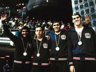 Mark Spitz; Jerry Heidenreich; David Edgar; John Murphy