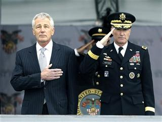 Chuck Hagel, David Huntoon