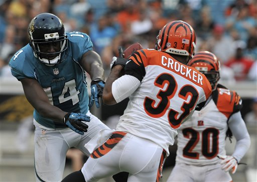 Chris Crocker,  Justin Blackmon
