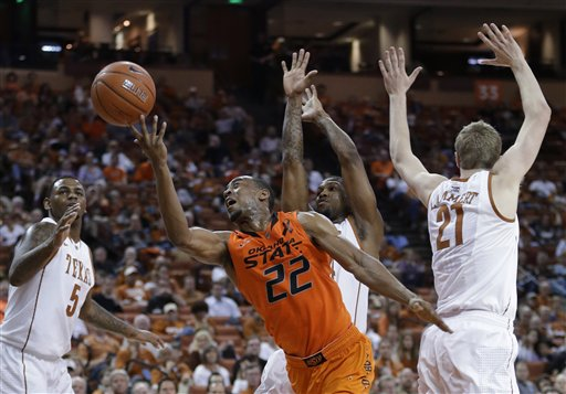 Oklahoma St Texas Basketball