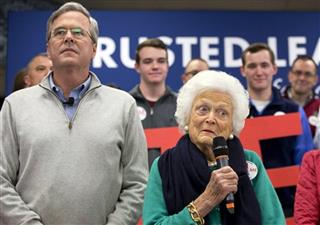 Jeb Bush, Barbara Bush