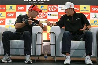 Tony Kanaan, Helio Castroneves