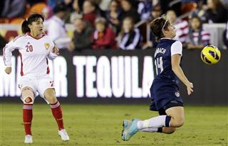 Abby Wambach, Huang Yini