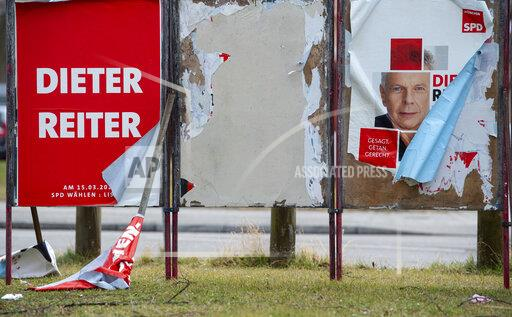 Destroyed election advertising