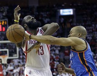 James Harden, Derek Fisher